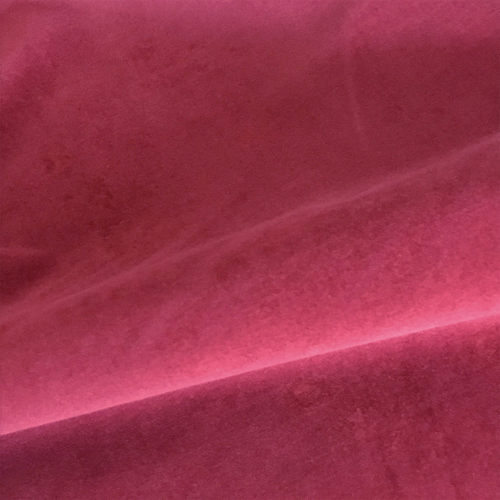 Blush Red Velvet Luxury Upholstery Fabric