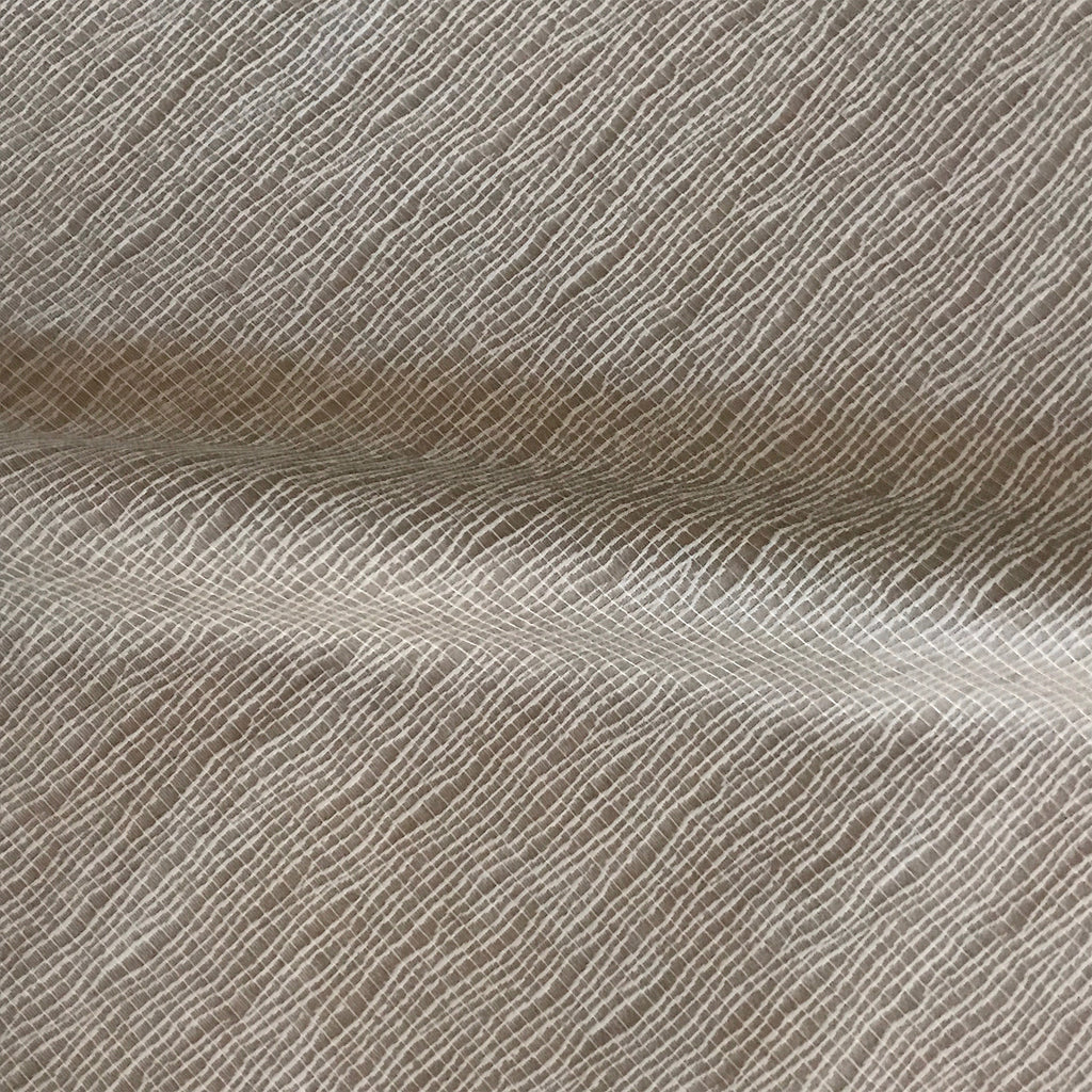Beige Contemporary Wavy Weave Upholstery Fabric
