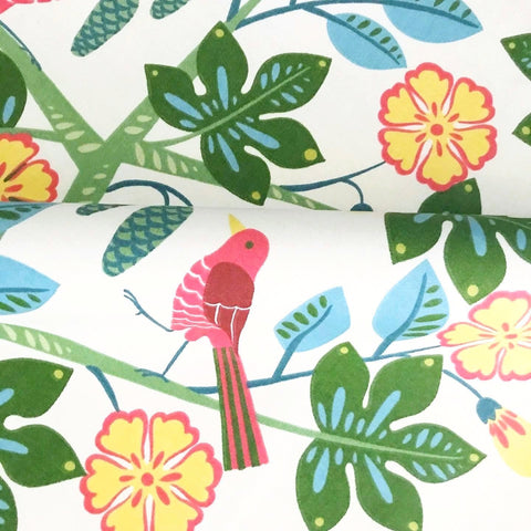 Spring Songbird Luxury Upholstery Fabric