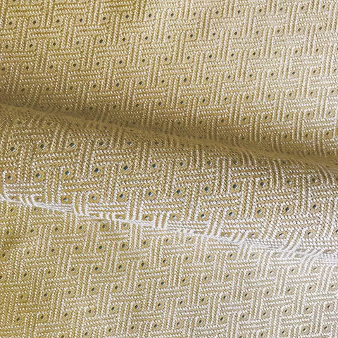 Neutral Basketweave Geometric Woven Upholstery Fabric 54""