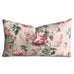 "15""x 26"" English Garden Red Berry Floral Luxury Decorative Pillow Cover"