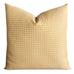 "22""x 22"" Faded Gold French Diamond Jacquard Luxury Decorative Pillow Cover"