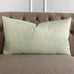 "15"" x 26"" Mint Small Geometric Print Decorative Pillow Cover"