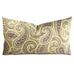 "15"" x 26"" Green Citrus Modern Paisley Luxury Decorative Pillow Cover"