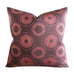 "22"" x 22"" Moorish Purple Boho Circular Geometric Luxury Woven Decorative Pillow Cover"