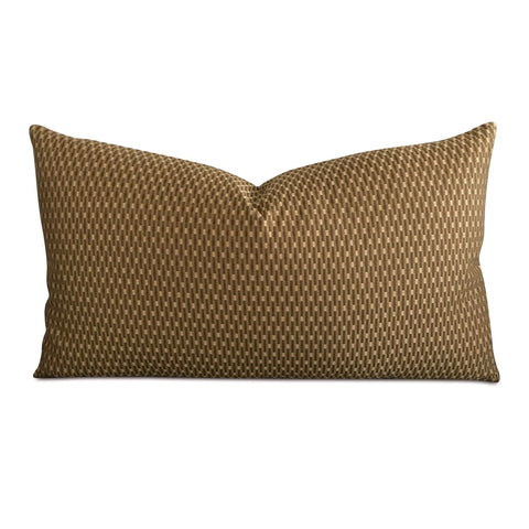 "Avocado Geometric Decorative Pillow Cover 15"" x 26"""