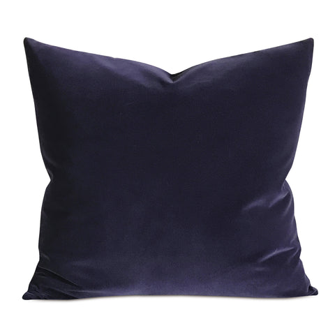 Grape Velvet Decorative Pillow Cover
