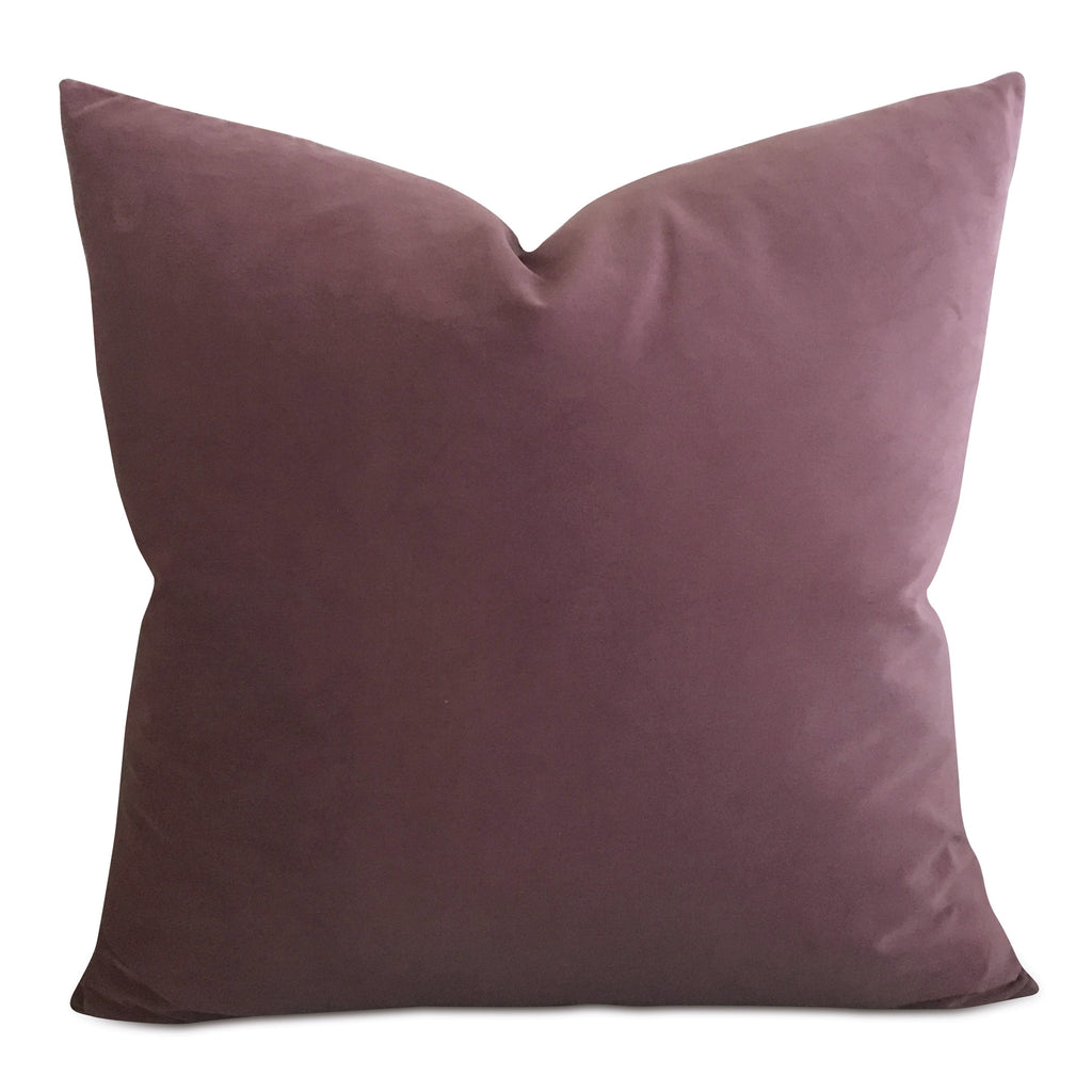 Dusty Rose Velvet Decorative Pillow Cover