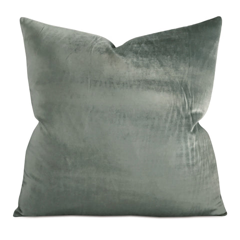 "Jade Velvet Decorative Pillow Cover 24"" x 24"""