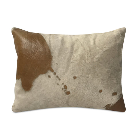 "Cowhide Spotted Pillow 13"" x 15"""