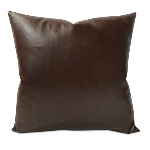 "Southwestern Faux Leather Pillow Cover 22"" x 22"""