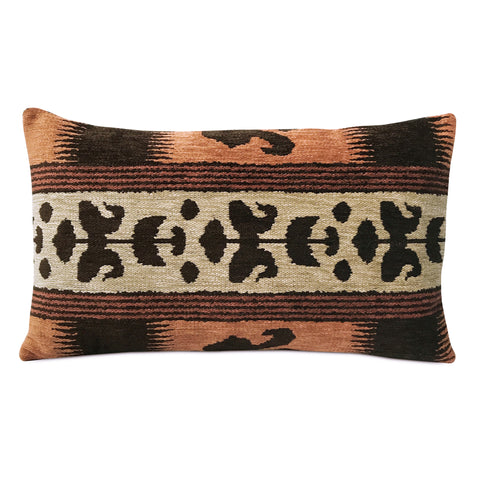 "Southwestern Tribal Design Decorative Bolster Pillow Cover 13"" x 22"""