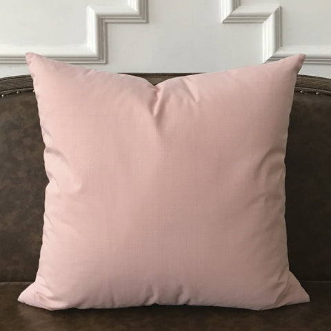 "Lightly Dusted Pink Pillow Cover 22""x22"""