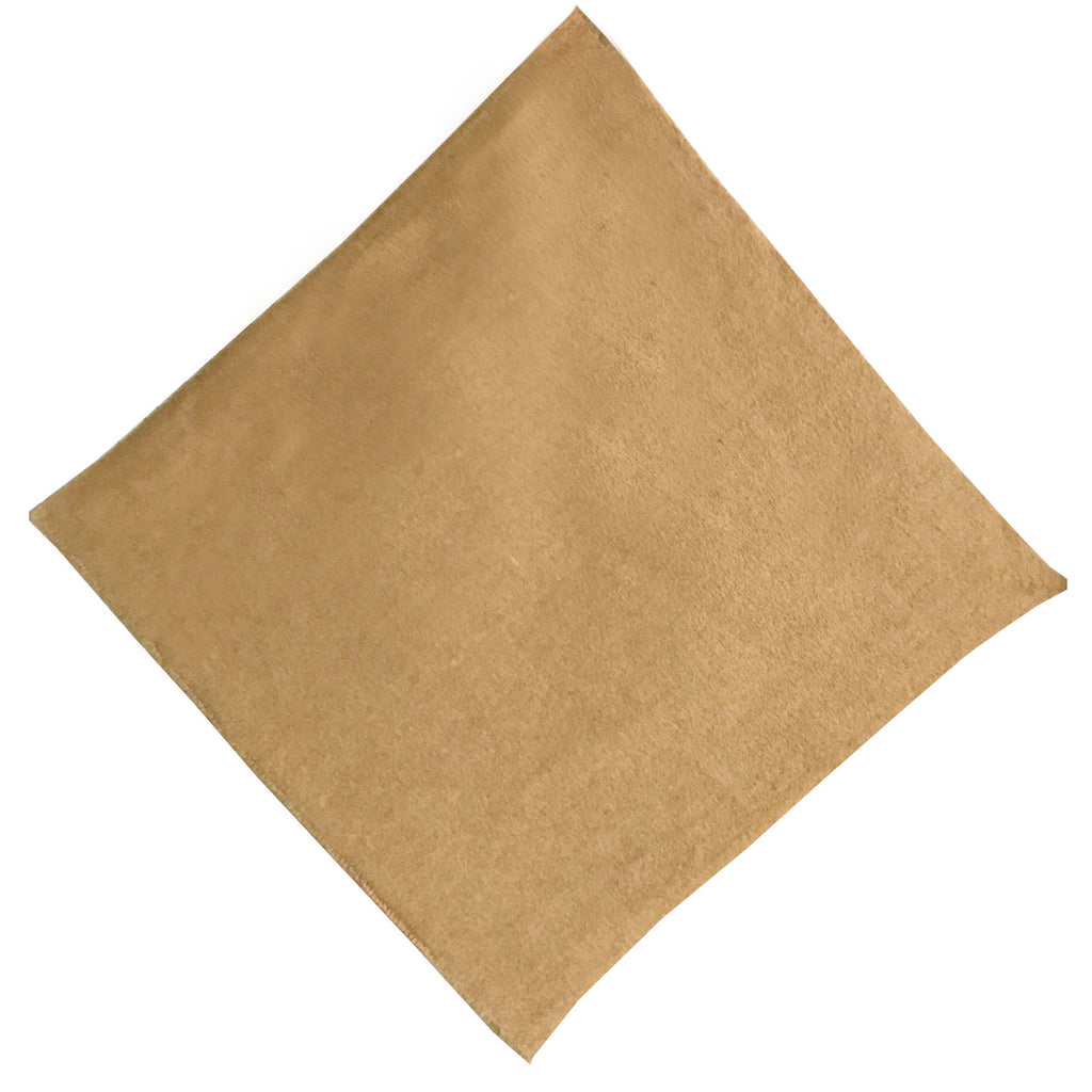 "12""x 12"" Camel Suede Cotton Blend Quilting & Craft Square"