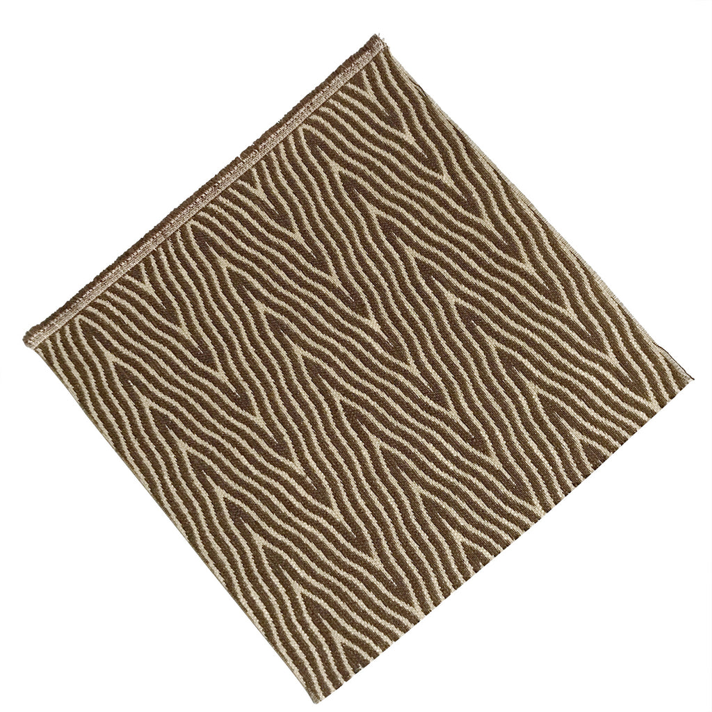 "12"" x 12"" Brown Zebra Print Quilting & Craft Square"