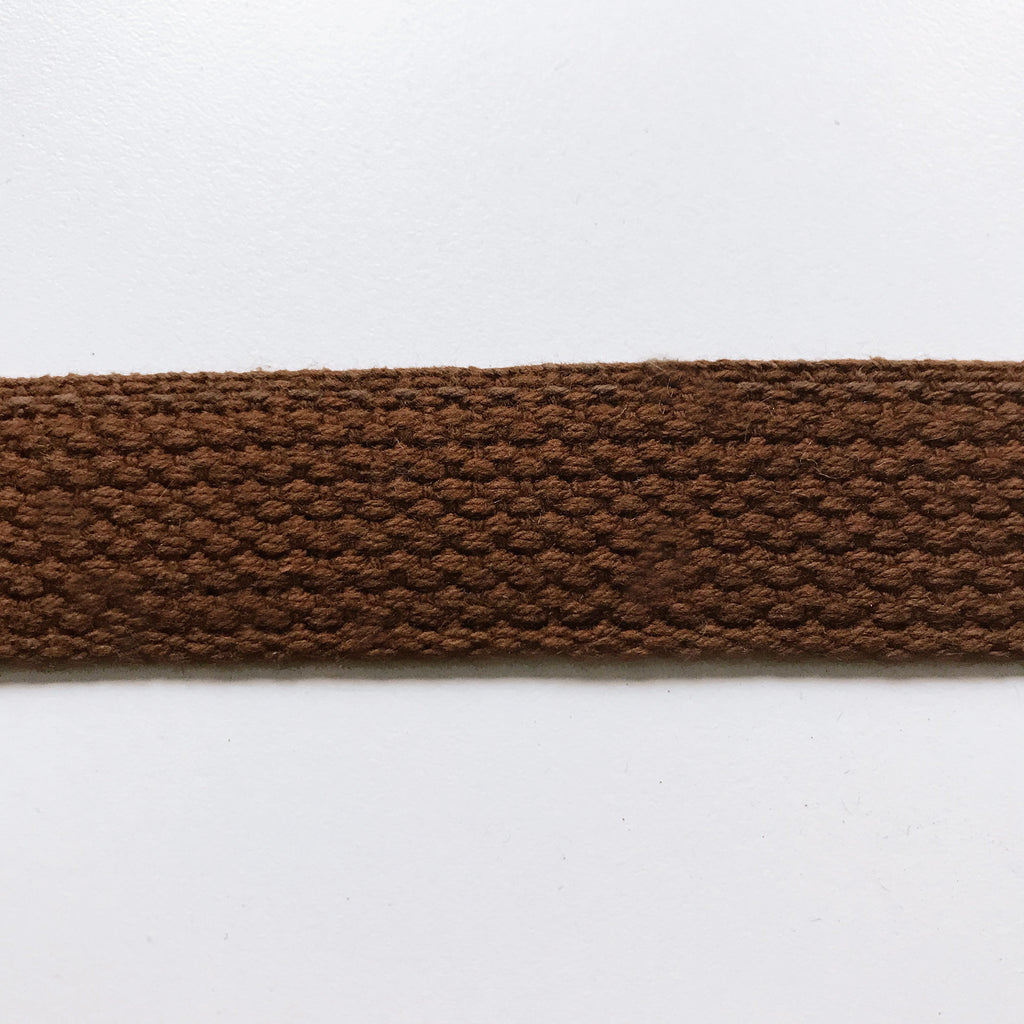 Brown High Quality Decorative Webbing Trim by the yard