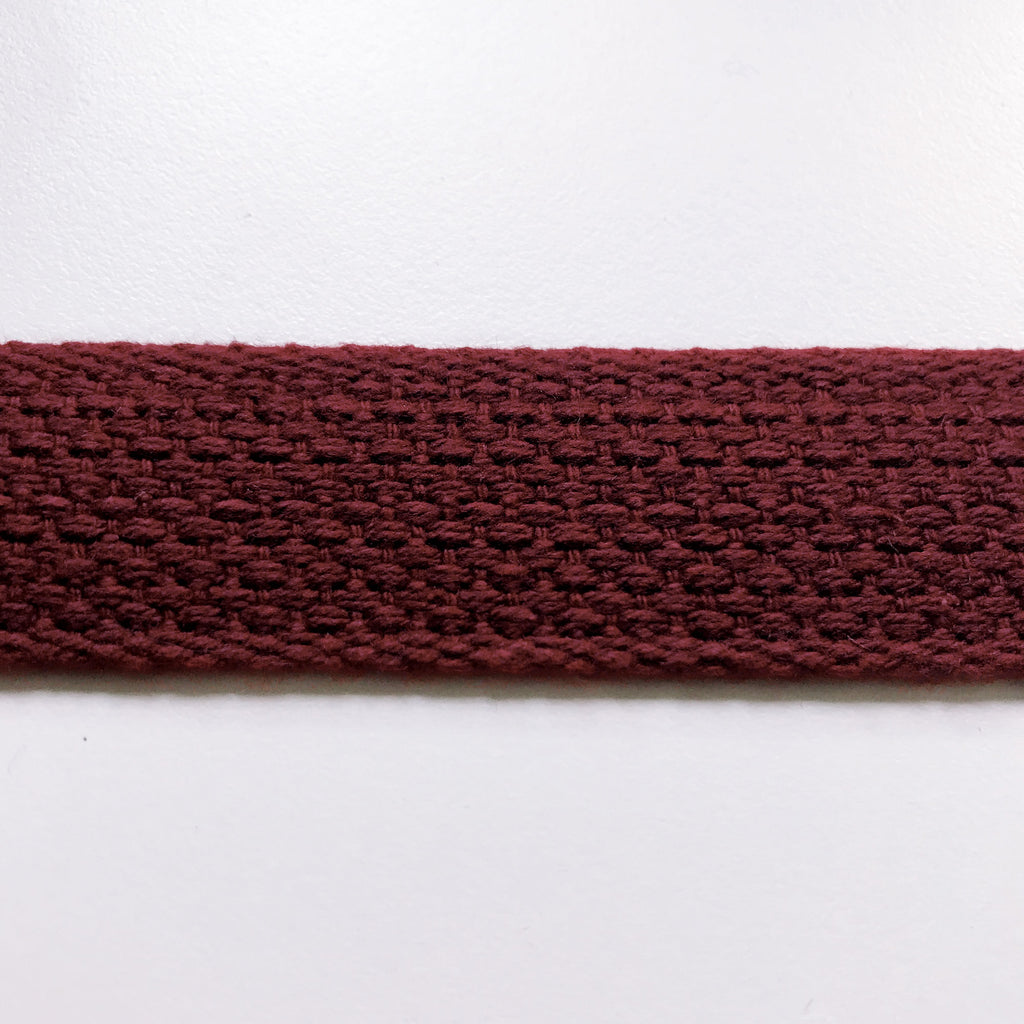 Burgundy High Quality Decorative Webbing Trim by the yard