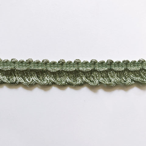 Khaki and Moss Green High Quality Decorative Loop Trim by the yard
