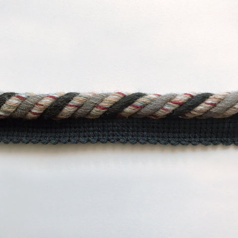 Multicolored High Quality Decorative Lip Cord Trim by the yard