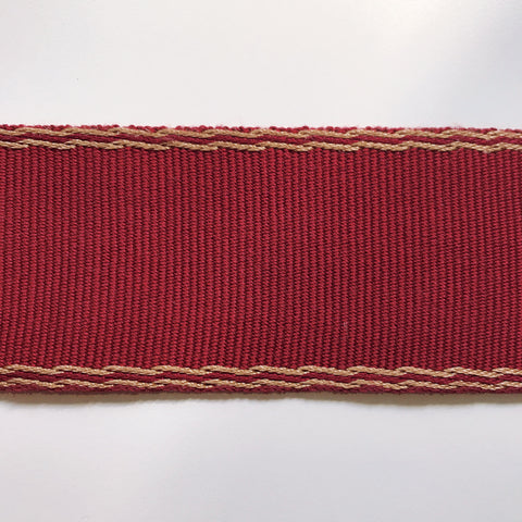 Red High Quality Decorative Border Trim by the yard