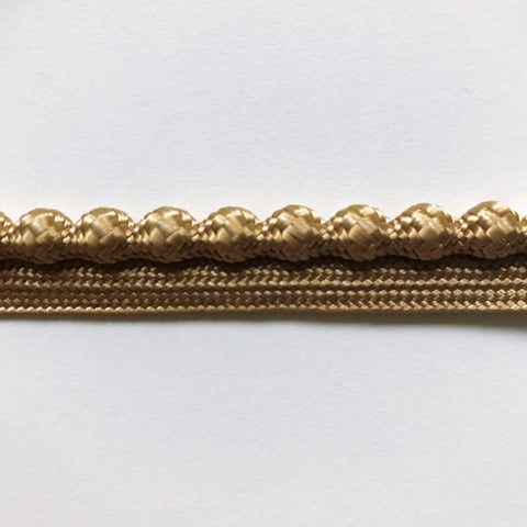 Gold High Quality Decorative Lip Cord Trim by the yard