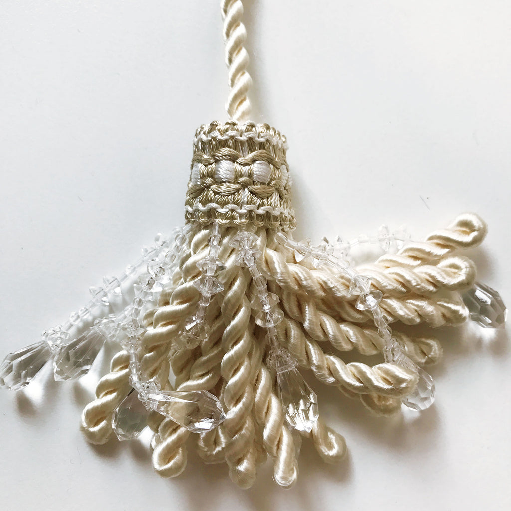 Ivory High Quality Decorative Tassel