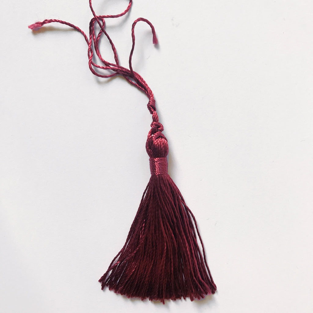 Burgundy High Quality Decorative Tassel