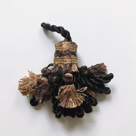 Black and Gold High Quality Decorative Tassel