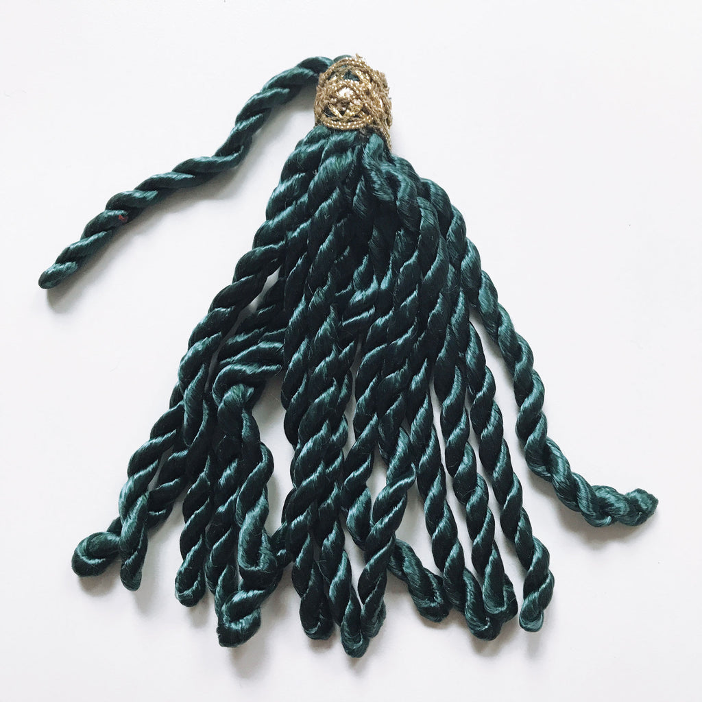 Emerald Green High Quality Decorative Tassel