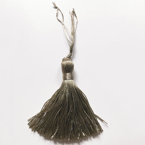 Taupe High Quality Decorative Tassel