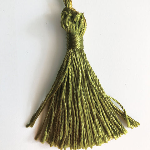 Olive Green High Quality Decorative Tassel