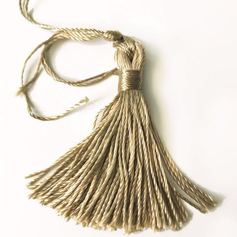 Khaki High Quality Decorative Tassel