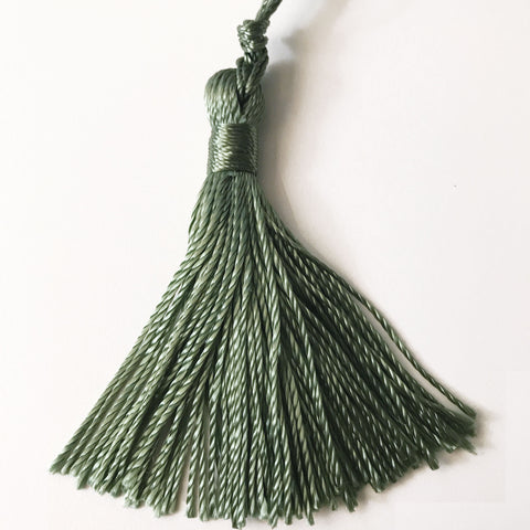 Sage High Quality Decorative Tassel