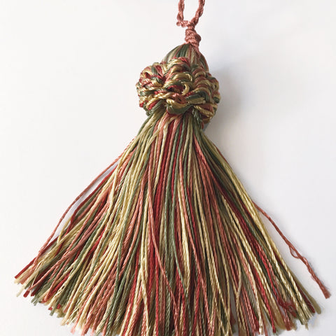 Gold and Red Quality Decorative Tassel