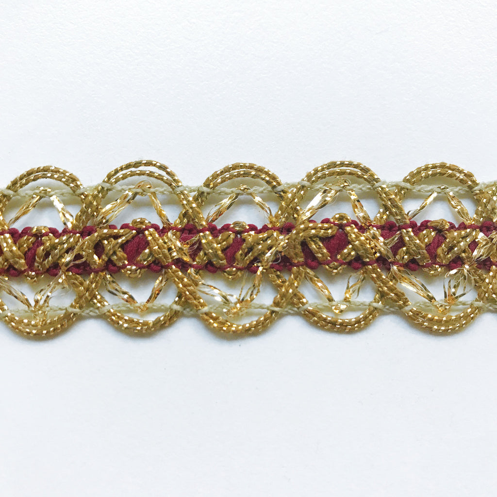 Gold High Quality Decorative Lace Trim by the yard