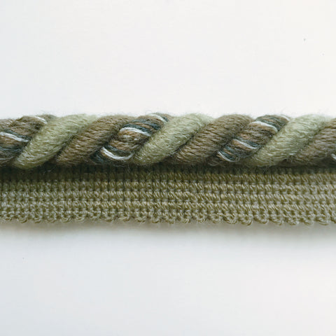 Green High Quality Decorative Lip Cord Trim by the yard