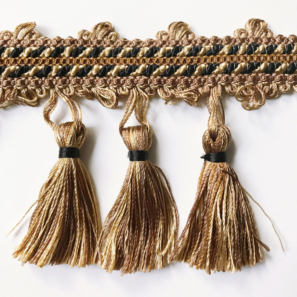 Old Hollywood High Quality Decorative Luxury Tassel Trim by the yard