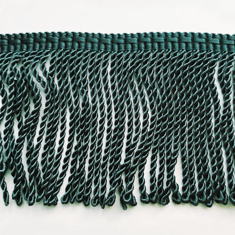 Forest Green High Quality Decorative Bullion Fringe Trim by the yard