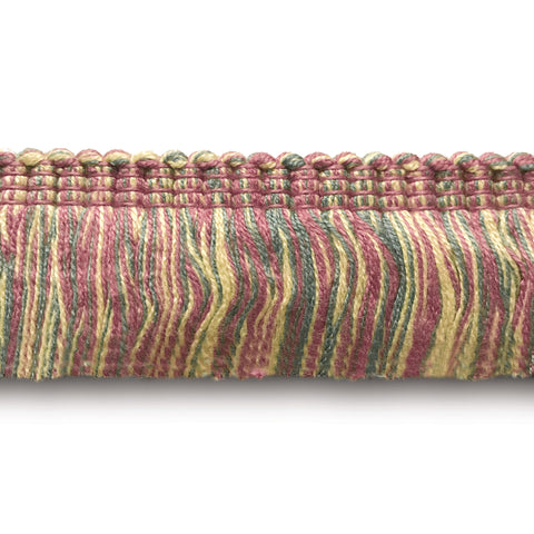 Multicolored High Quality Decorative Brush Fringe Trim by the yard