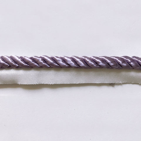 Lilac High Quality Decorative Lip Cord Trim by the yard