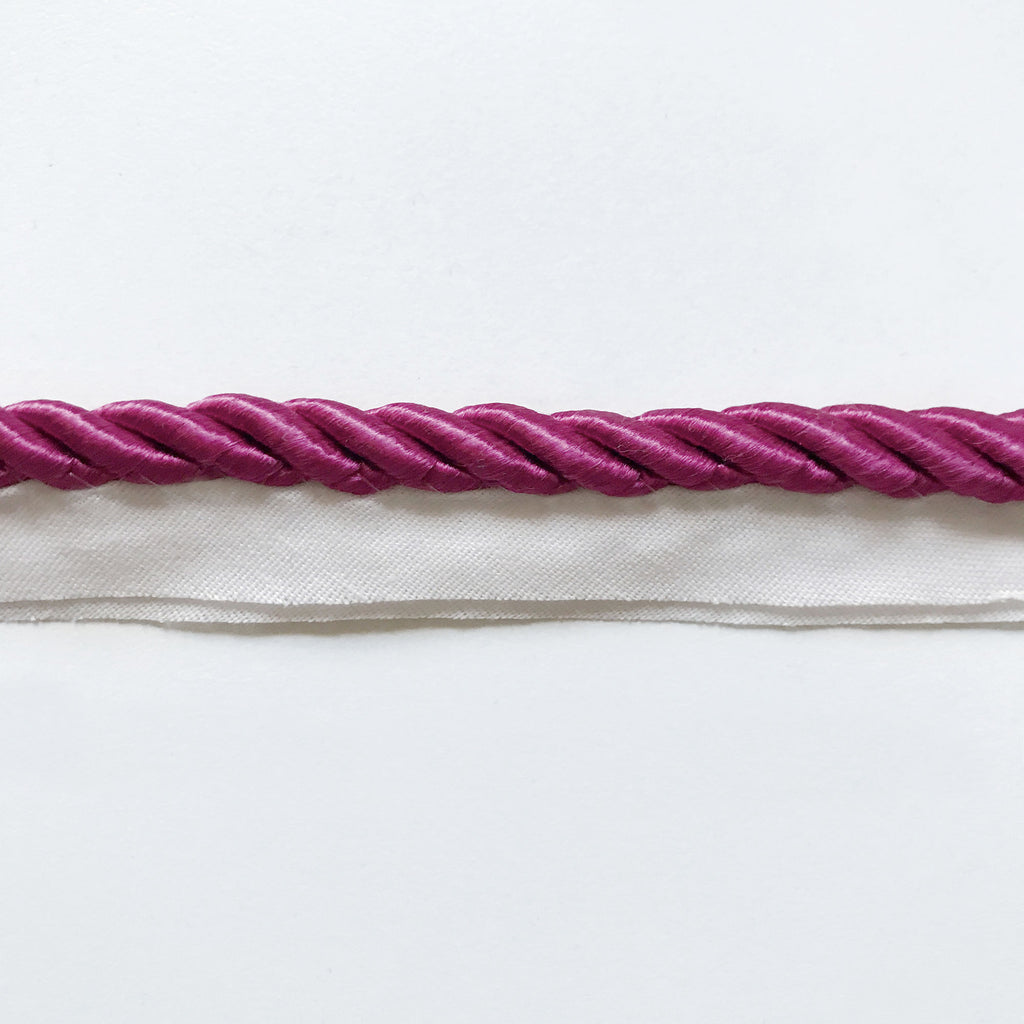Hot Pink High Quality Decorative Lip Cord Trim by the yard