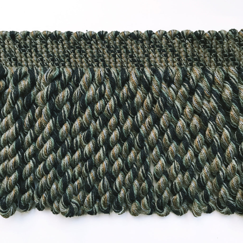 Hunter Green High Quality Bullion Fringe Trim by the yard