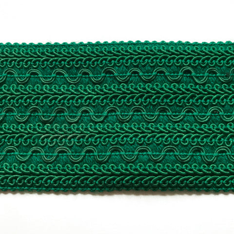 Emerald Green High Quality Decorative Border Trim by the yard