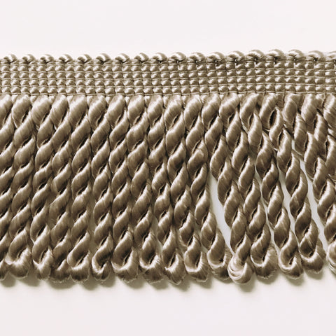 Khaki High Quality Decorative Bullion Fringe Trim by the yard