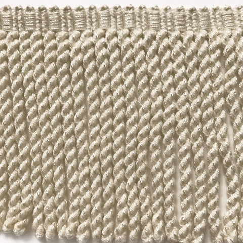 Ivory High Quality Decorative Bullion Fringe Trim by the yard