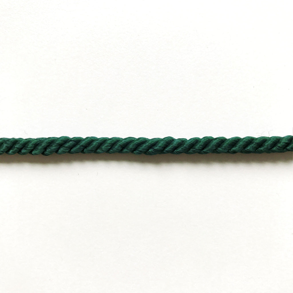 Emerald Green High Quality Decorative Cord Trim by the yard
