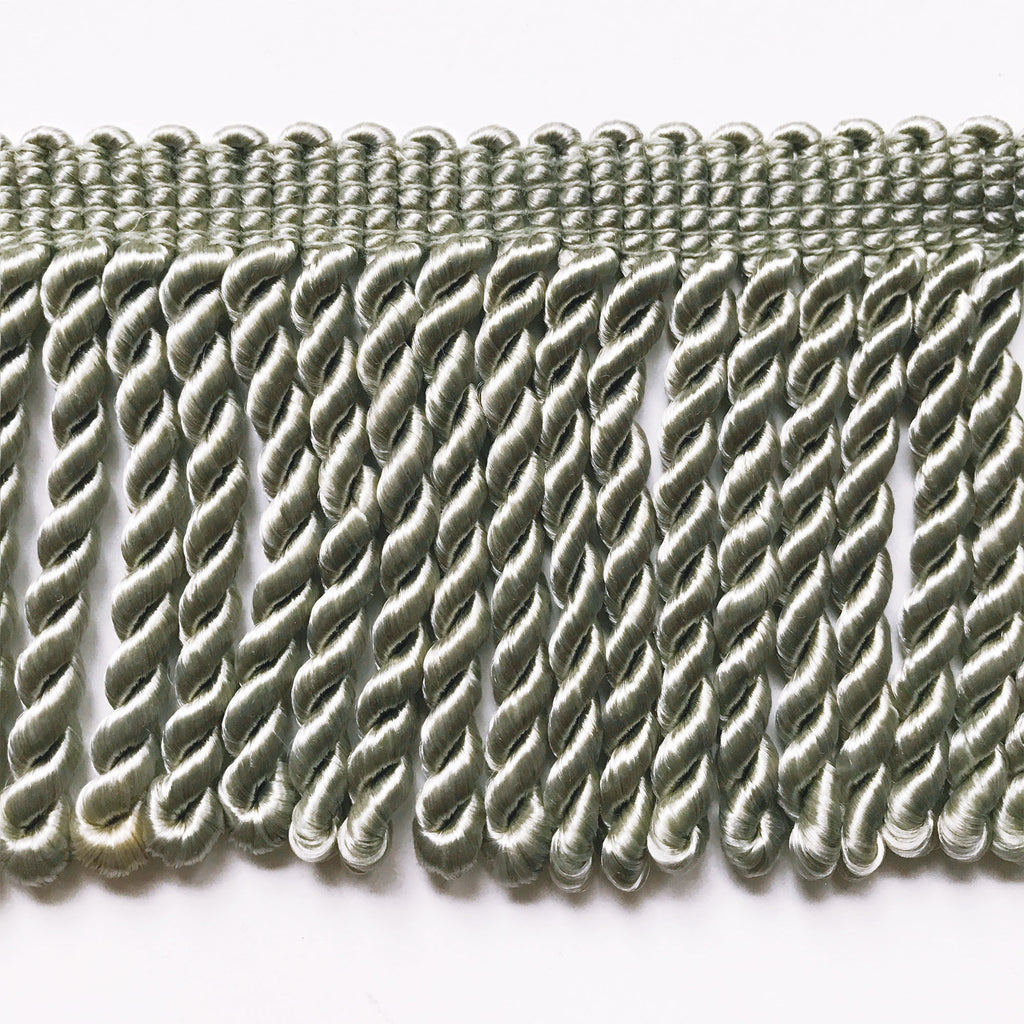 Silver High Quality Decorative Bullion Fringe Trim by the yard