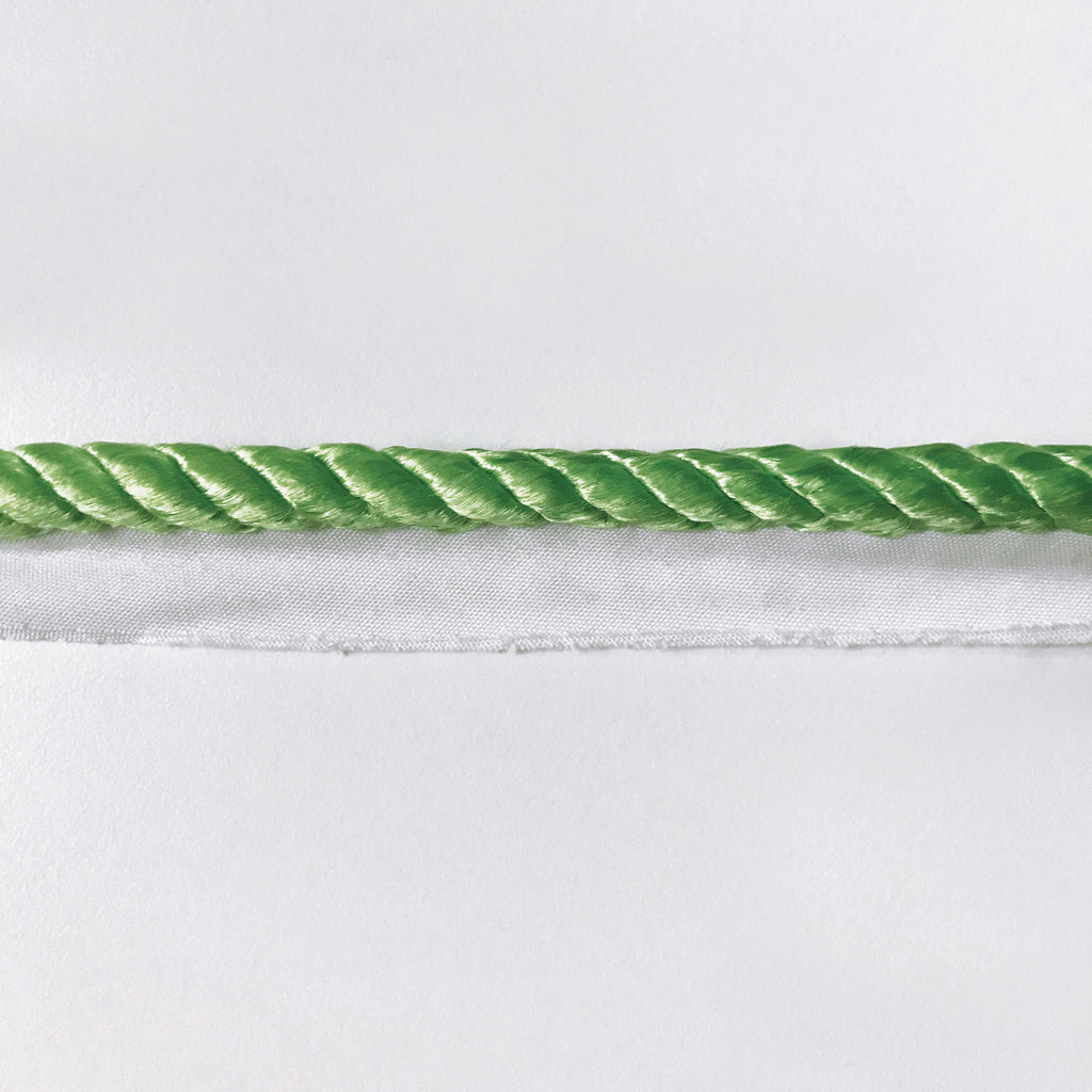 Chartreuse High Quality Decorative Lip Cord Trim by the yard