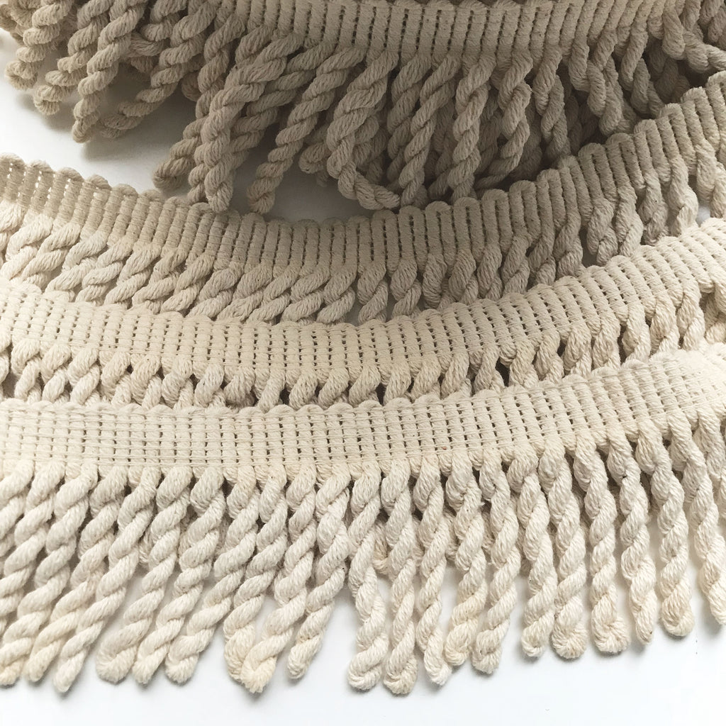 Champagne High Quality Decorative Bullion Fringe Trim by the yard