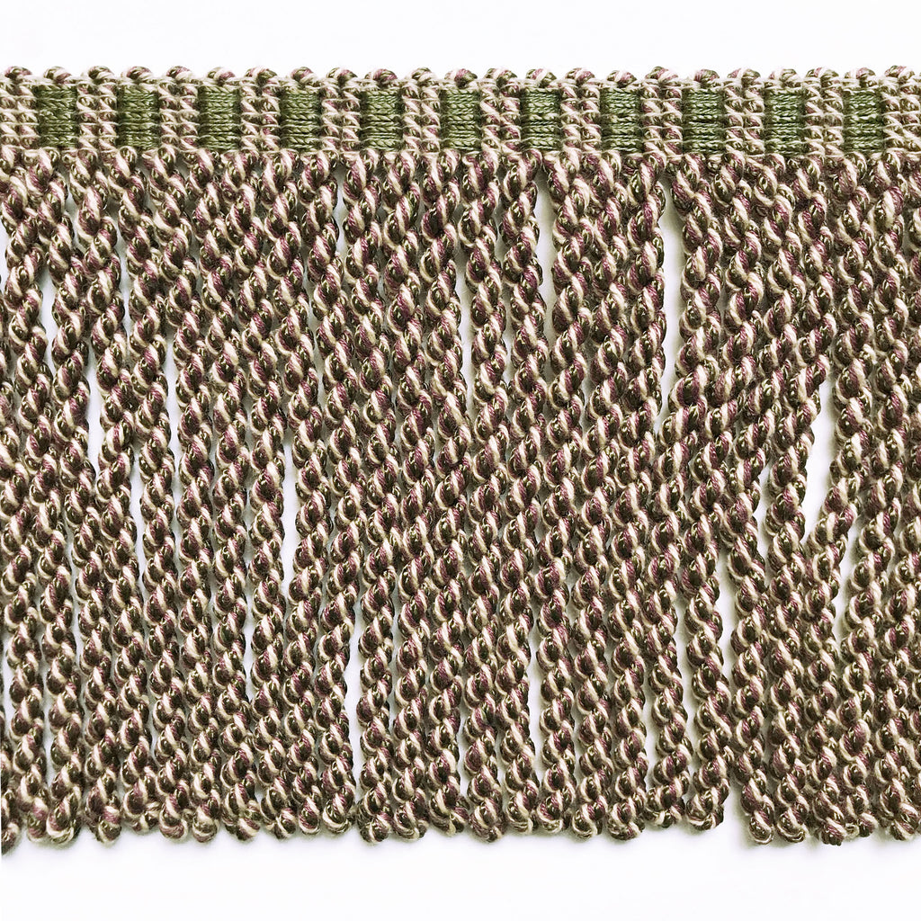 Olive Green High Quality Decorative Bullion Fringe Trim by the yard